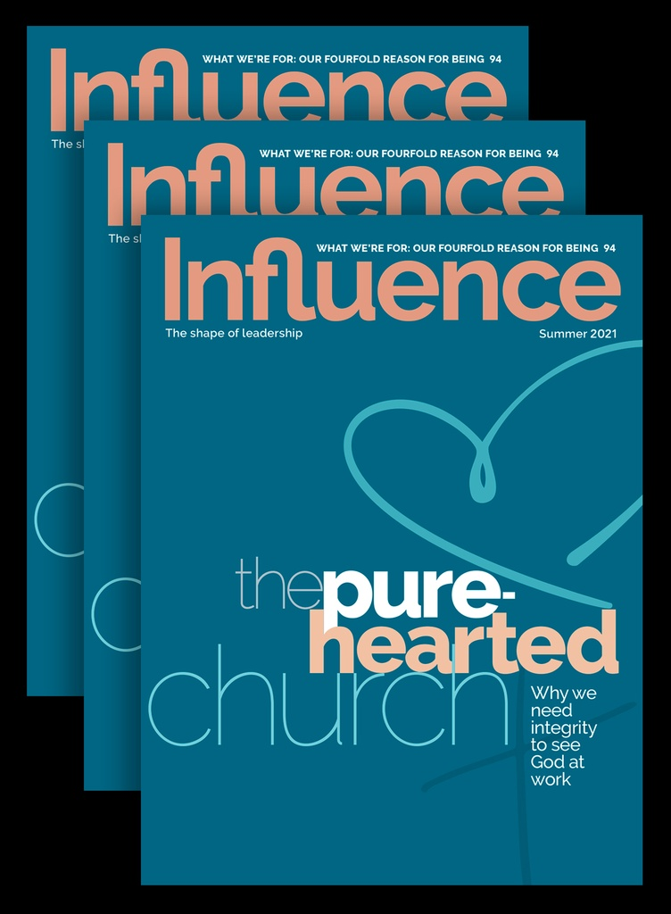 Influence 4 issues / 1 year Bundle Subscription
